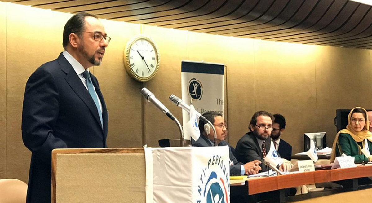 Remarks By H.E. Salahuddin Rabbani Minister Of Foreign Affairs Of Islamic Republic Of Afghanistan At The Meeting Of States Parties To Mine-Ban Convention